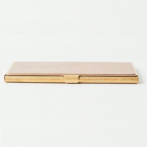 折井 Orii 銅彩名片盒-斑紋純銀色
