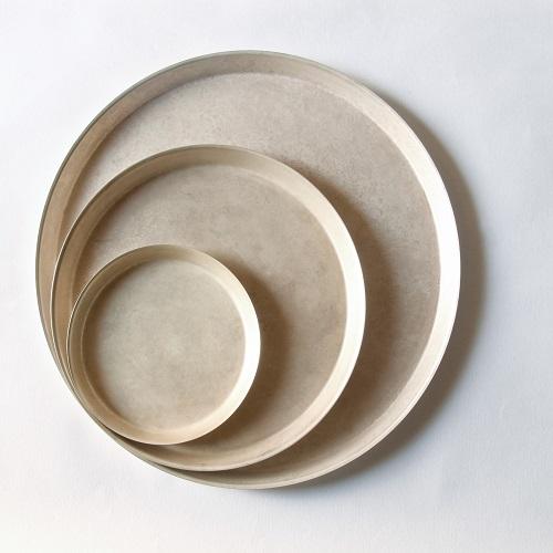折井 Orii tone圓滿銅彩盤-銅綠(M)