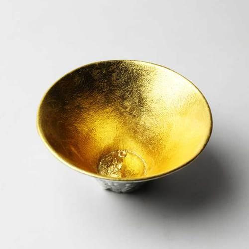 能作 富士山造型杯金箔組合