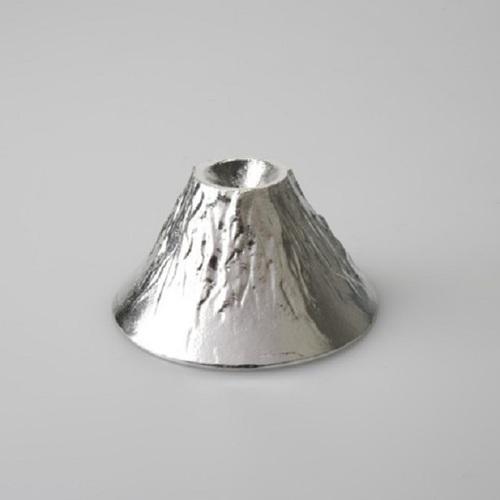 能作|富士山造型杯純錫、金箔組合