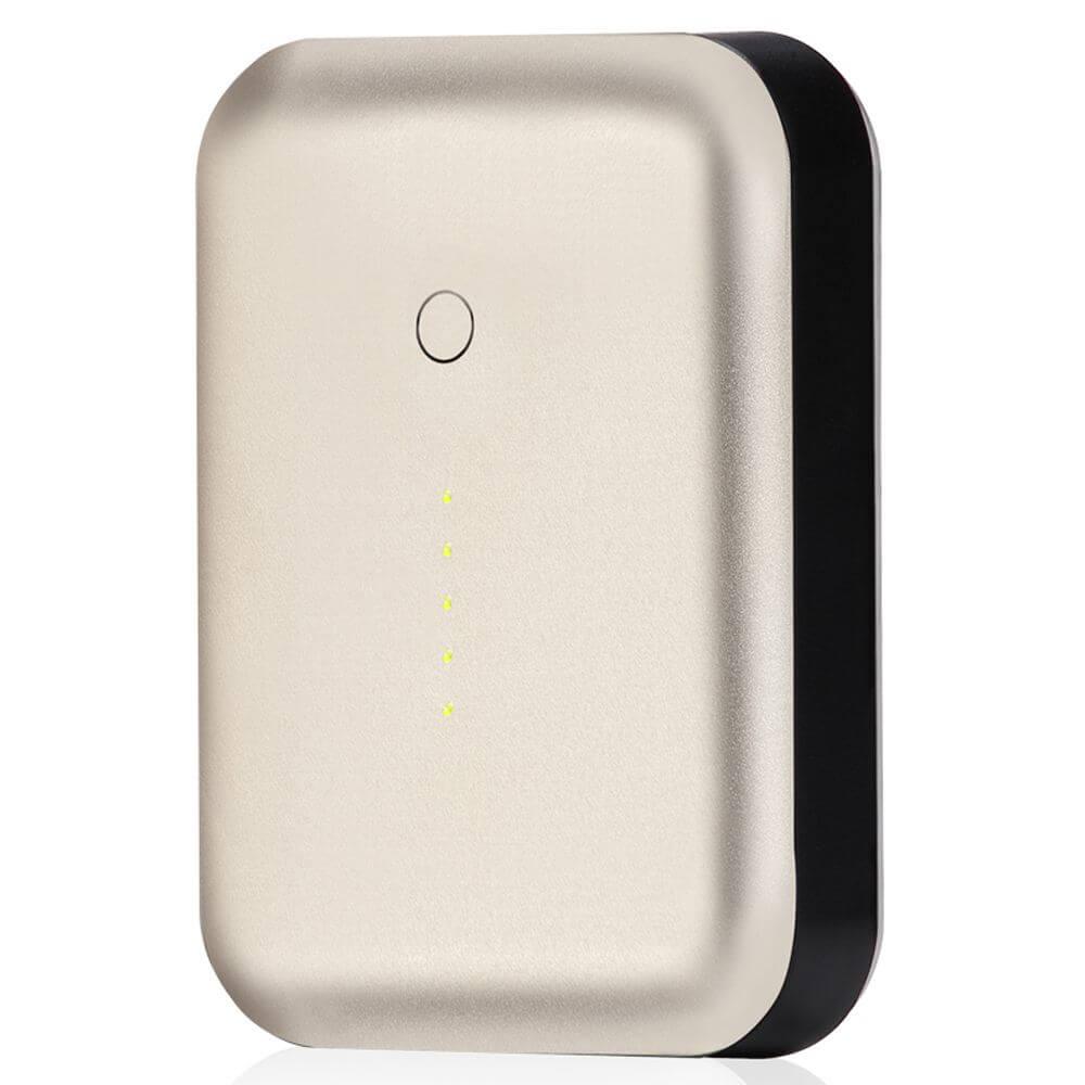 Just Mobile Gum++™ 高效能6000 mAh鋁質行動電源(金色)PP-268AGD
