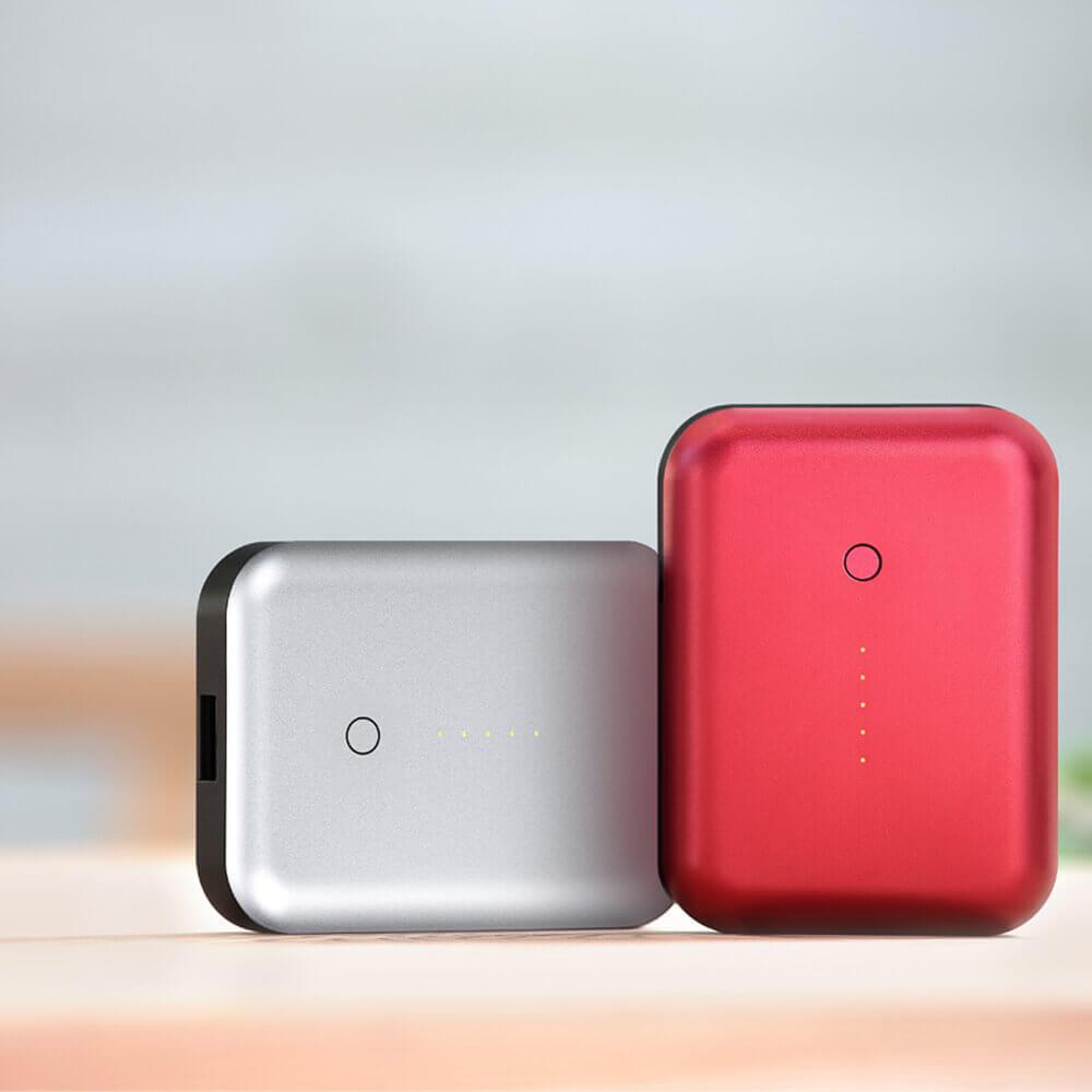 Just Mobile Gum++™ 高效能6000 mAh鋁質行動電源(紅色)PP-268ARE