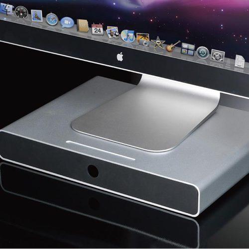 Just Mobile|Drawer™ 鋁質螢幕抽屜底座 DW-500