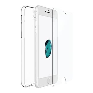 Just Mobile|i7 Plus組合價|TENC™ 國王新衣自動修復保護殼 +Xkin™ 強化玻璃保護貼