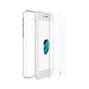 Just Mobile|i7 組合價|TENC™ 國王新衣自動修復保護殼 +Xkin™ 強化玻璃保護貼