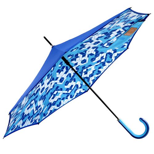 Carry 限量印刷款反向傘(立體方塊)