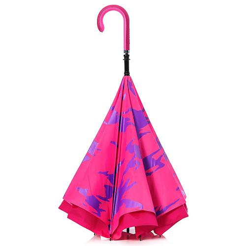 Carry|限量印刷款反向傘(粉紅迷彩)