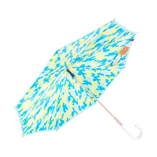 Carry|粉嫩迷彩反向傘 - 香草天空