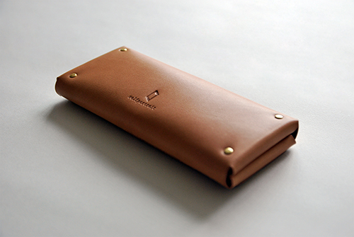本相造物所 | 原創者系列 - 手感厚長夾(棕)