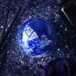 紅琉璃|碎星 琉璃擴香瓶(藍色)