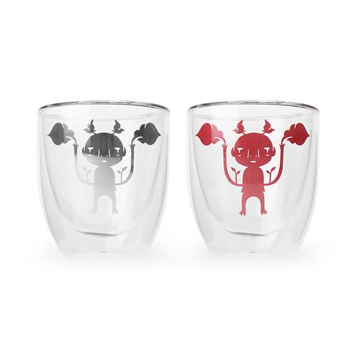紅琉璃|雲門x吳耿禎 捉雲兒雙層杯
