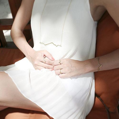 INTZUITION 以覺學|Beats 悸 -金工手工純銀 925 Silver 戒指 ring