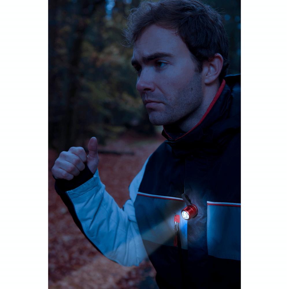 TROIKA|夜間運動照明組(紅色)