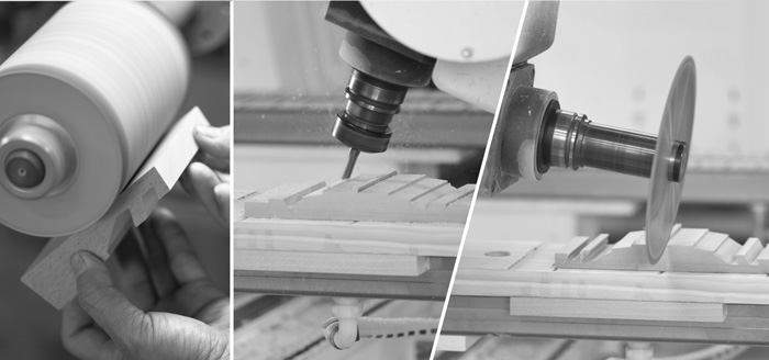 dStand|雙槽多功能桌上型  實木手機/平板座【櫸木】