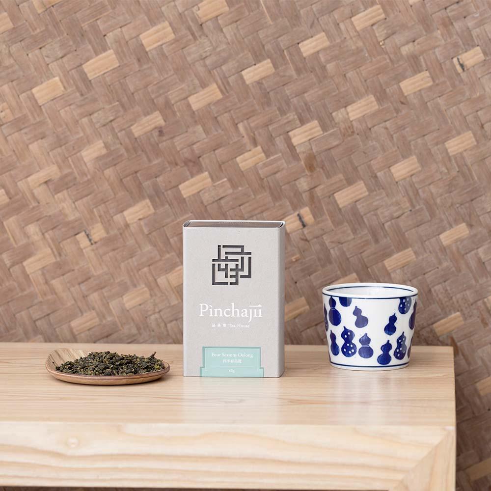 品茶集|經典產地系列-四季春烏龍60克