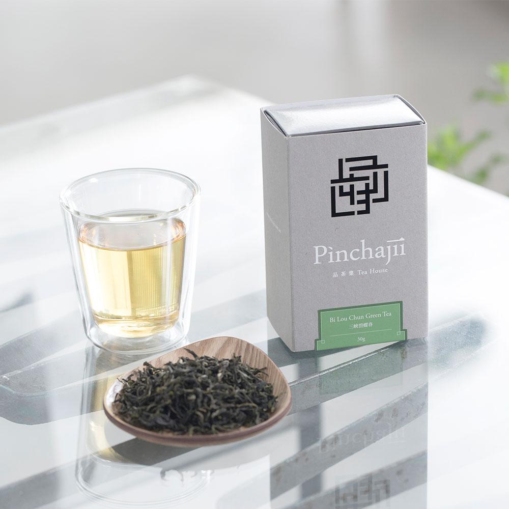 品茶集|經典產地系列-三峽碧螺春綠茶30克