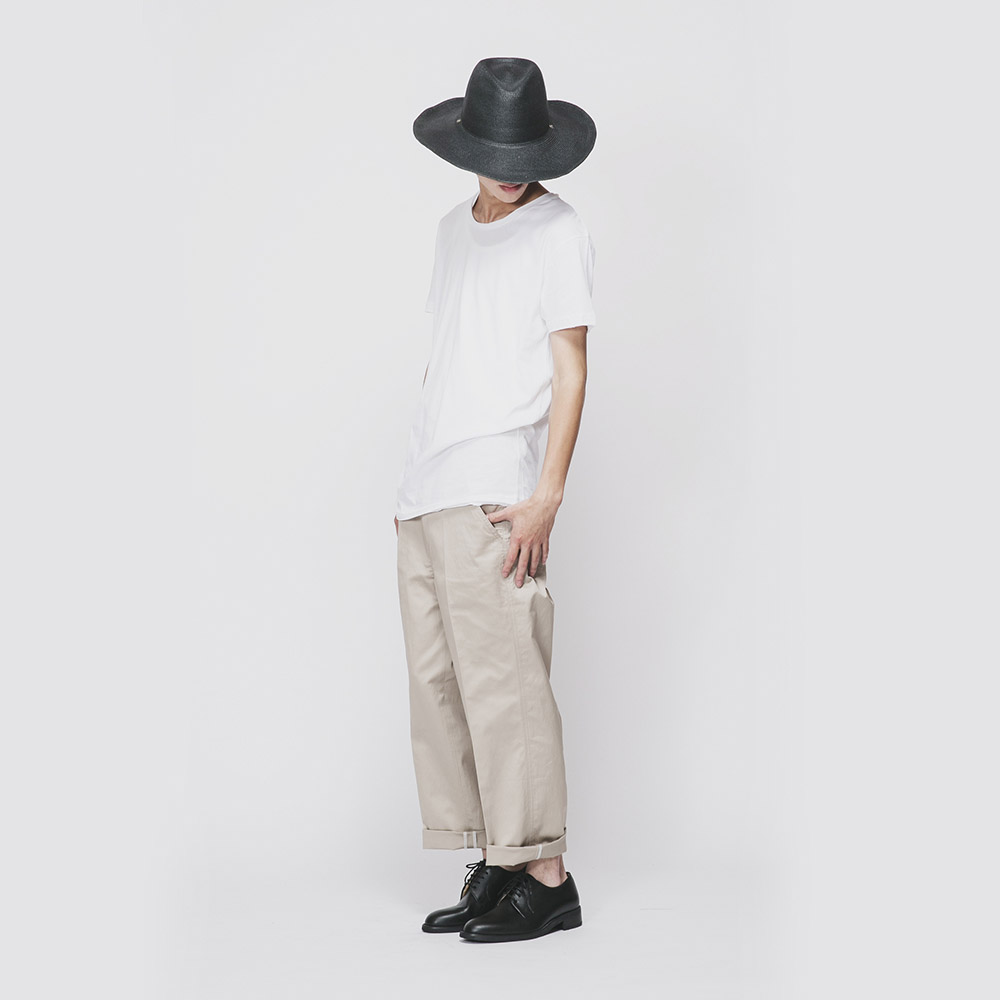 Bread&Boxers|Crew Neck relaxed(白色)