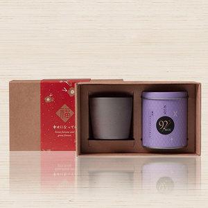 不二堂 | 跨年私房茶禮盒(跨年私房茶30克+岩礦原創茶杯)