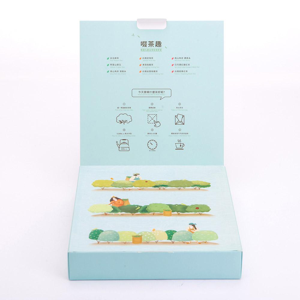 不二堂 | 啜茶趣 茶遊台灣2盒(18入/盒)