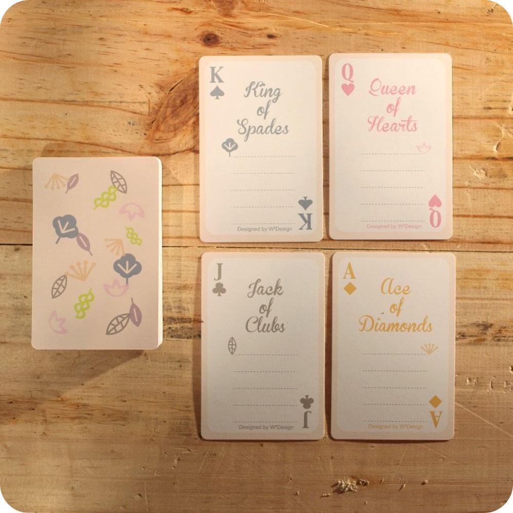 W2Design|繽紛森林撲克牌便條卡 (盒裝版)