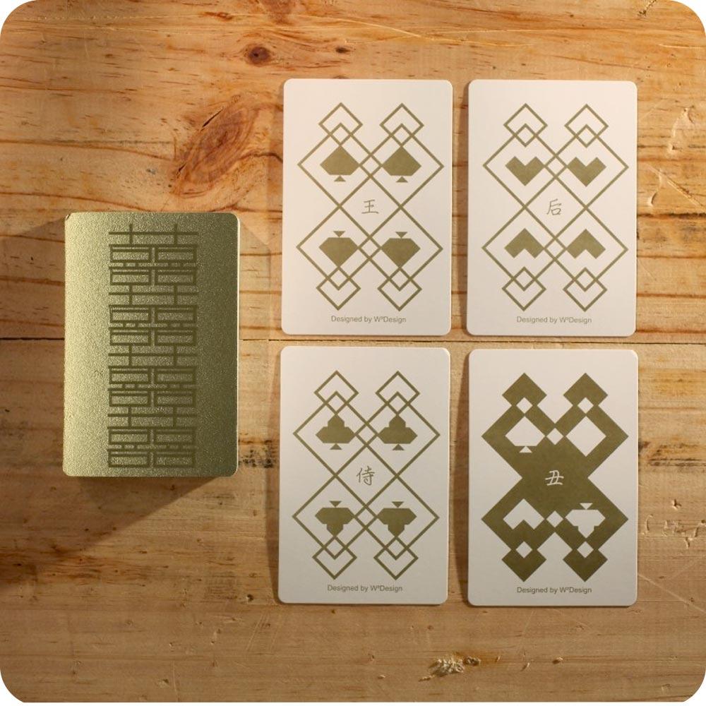 W2Design|金喜連連撲克牌便條卡 (盒裝版)