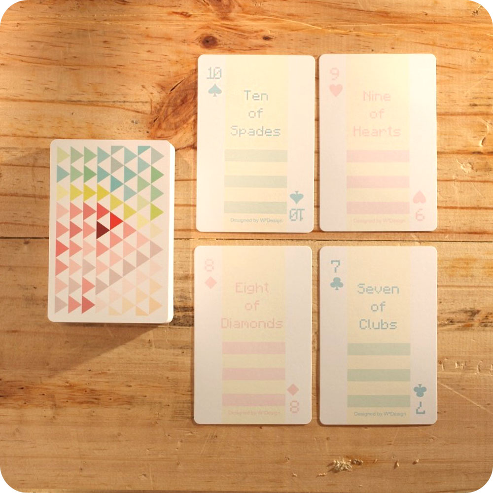 W2Design|前進森林撲克牌便條卡 (盒裝版)