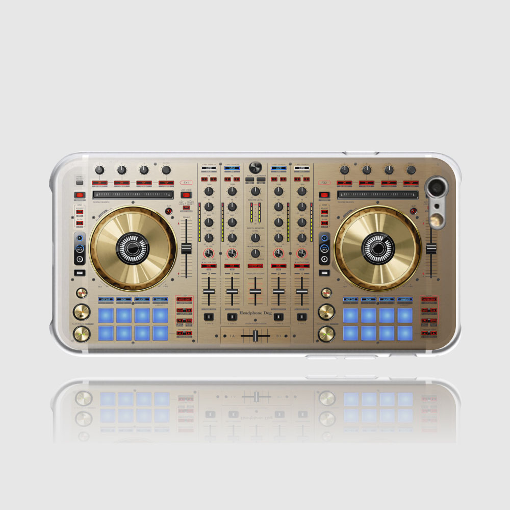 HeadphoneDog|音樂太空DJ手機殼iPhone-太空金