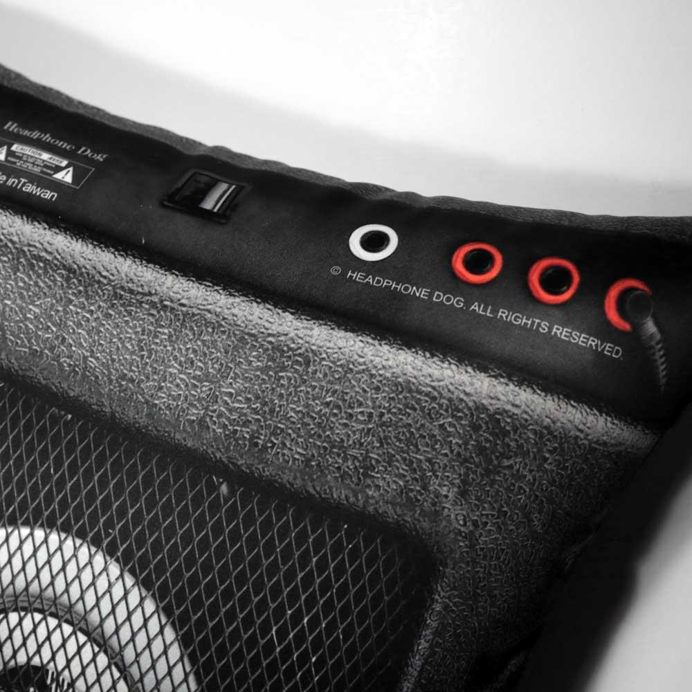 HeadphoneDog|音樂音箱抱枕/靠背-L