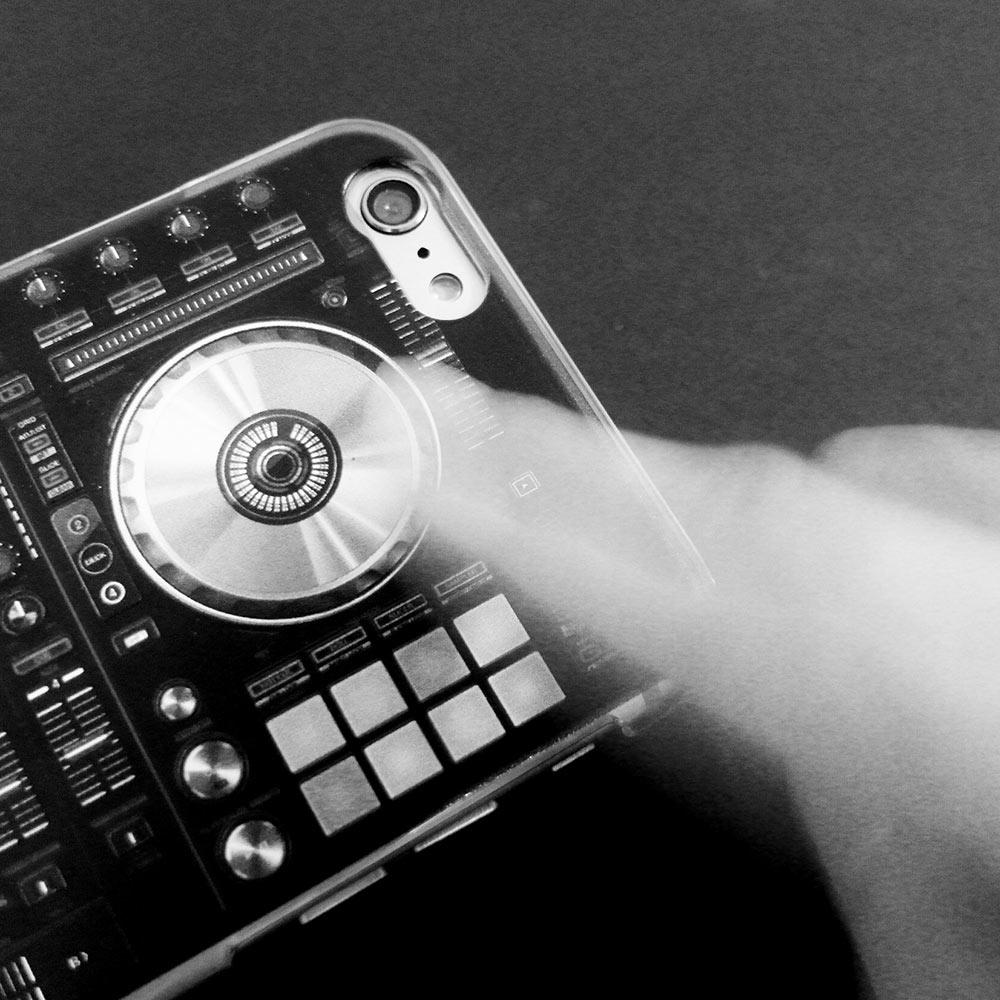 HeadphoneDog|第二代全新透明DJ雙料手機殼-一組2入