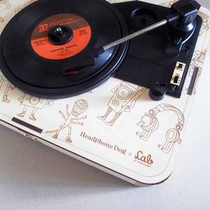 【集購】HeadphoneDog|手工原木黑膠唱機 X LAB by Dimension+聯名款
