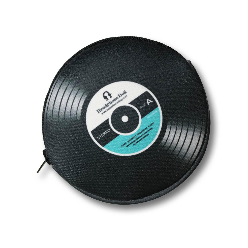 HeadphoneDog 唱片造型耳機袋零錢包