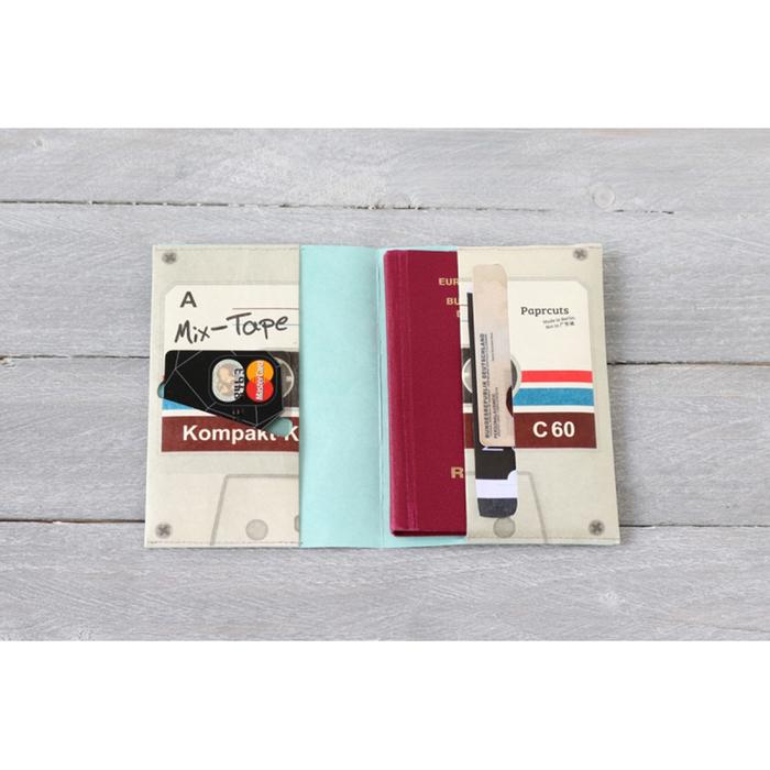 (複製)paprcuts|護照夾(萬花筒紅)