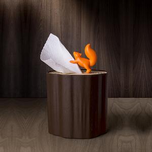 QUALY 松鼠愛森林-捲筒衛生紙盒