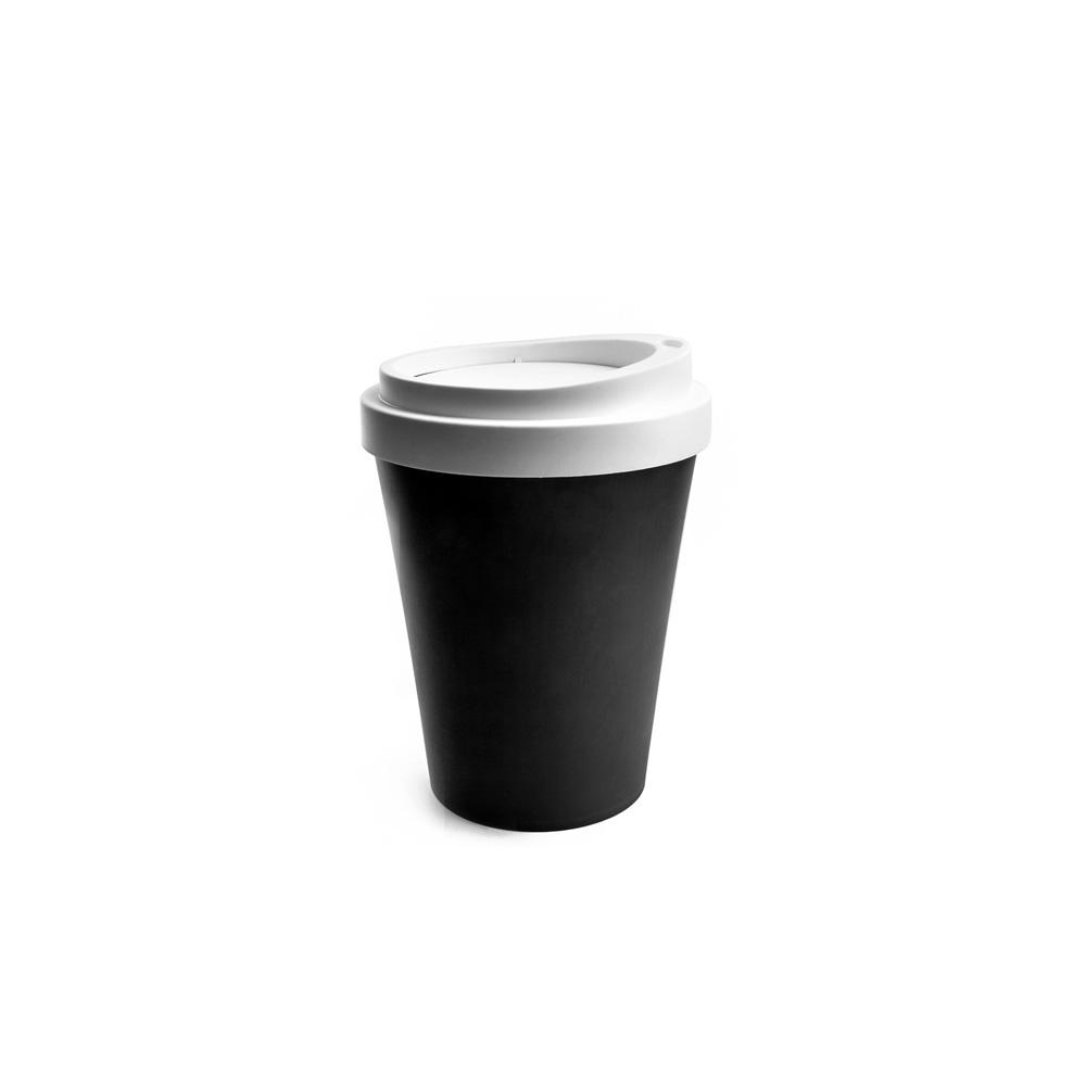 QUALY|隨行杯-垃圾桶S(黑)