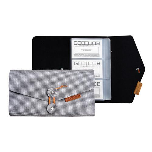 GOODJOB 郵件系列-120入卡夾(灰)