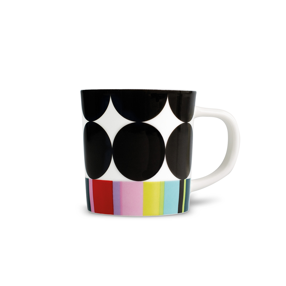 REMEMBER|骨瓷義式咖啡杯組(黑彩甜筒)