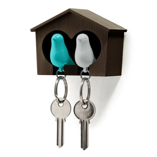 QUALY|雀兒愛巢-咖啡屋(白鳥+藍鳥)