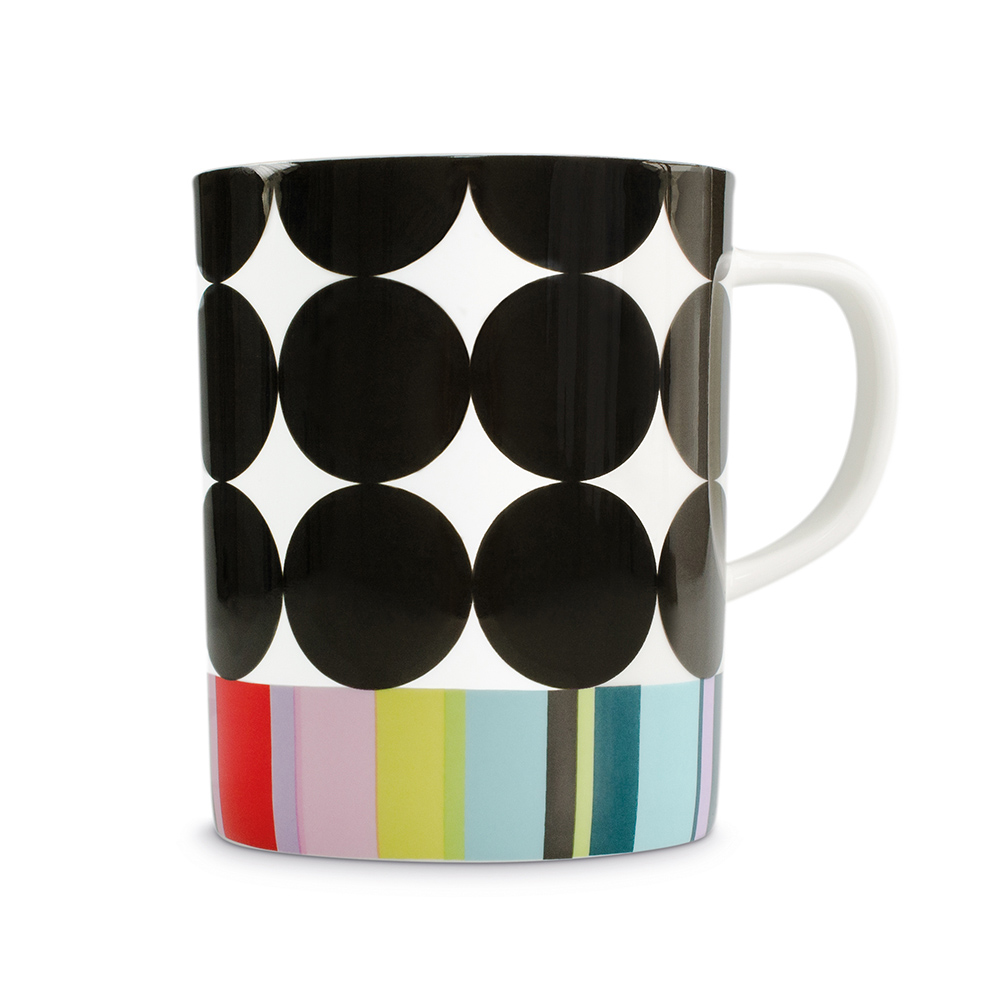 REMEMBER|骨瓷馬克杯(黑彩甜筒)
