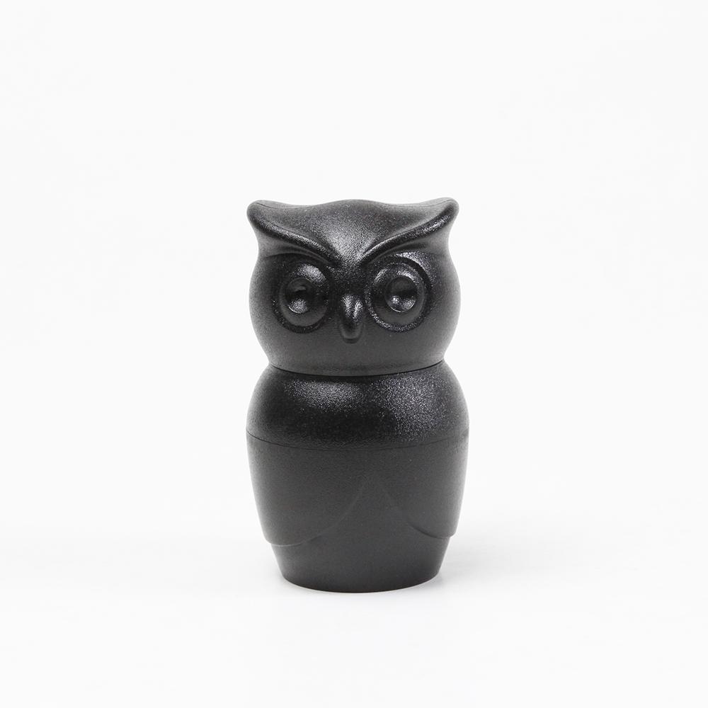 QUALY|貓頭鷹研磨器-黑