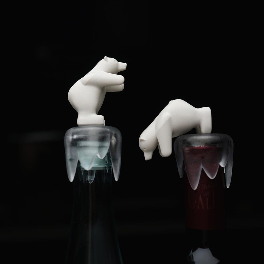 QUALY|醉愛北極熊-酒瓶塞