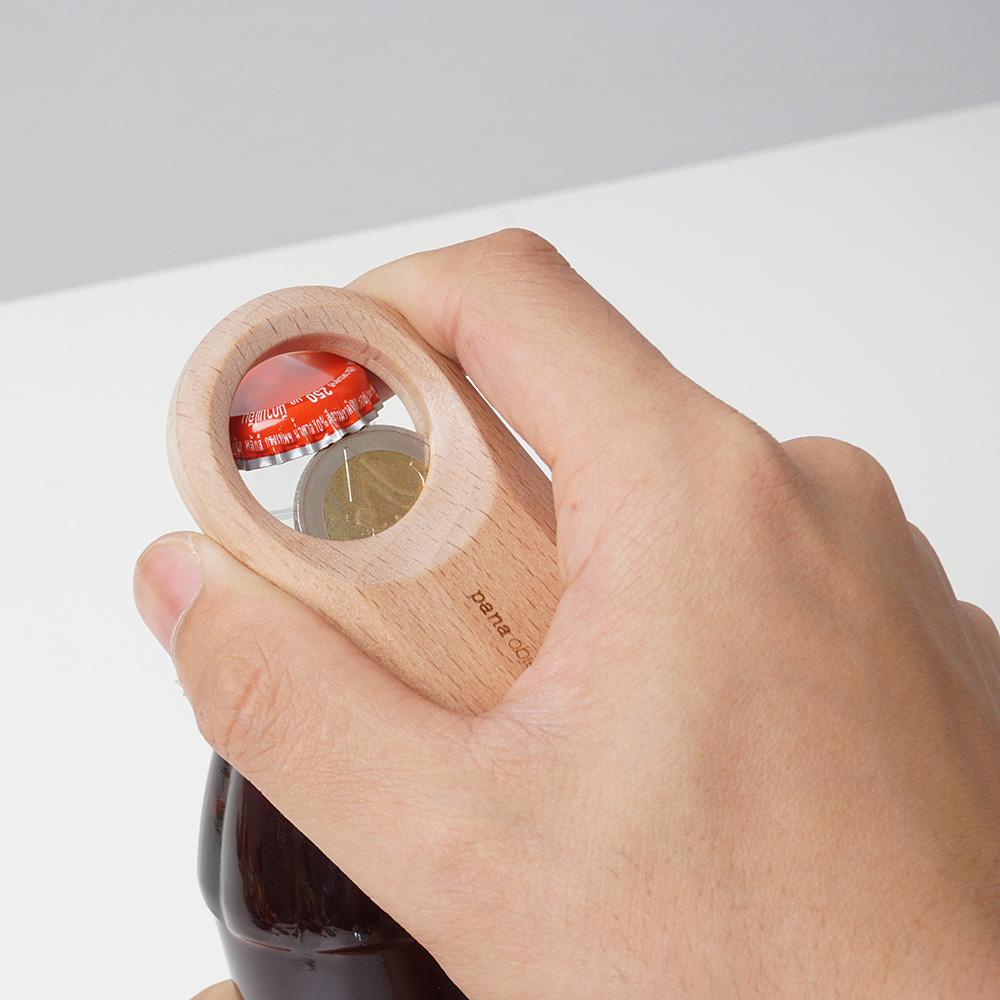 Pana Objects|零錢開瓶器(櫸木)