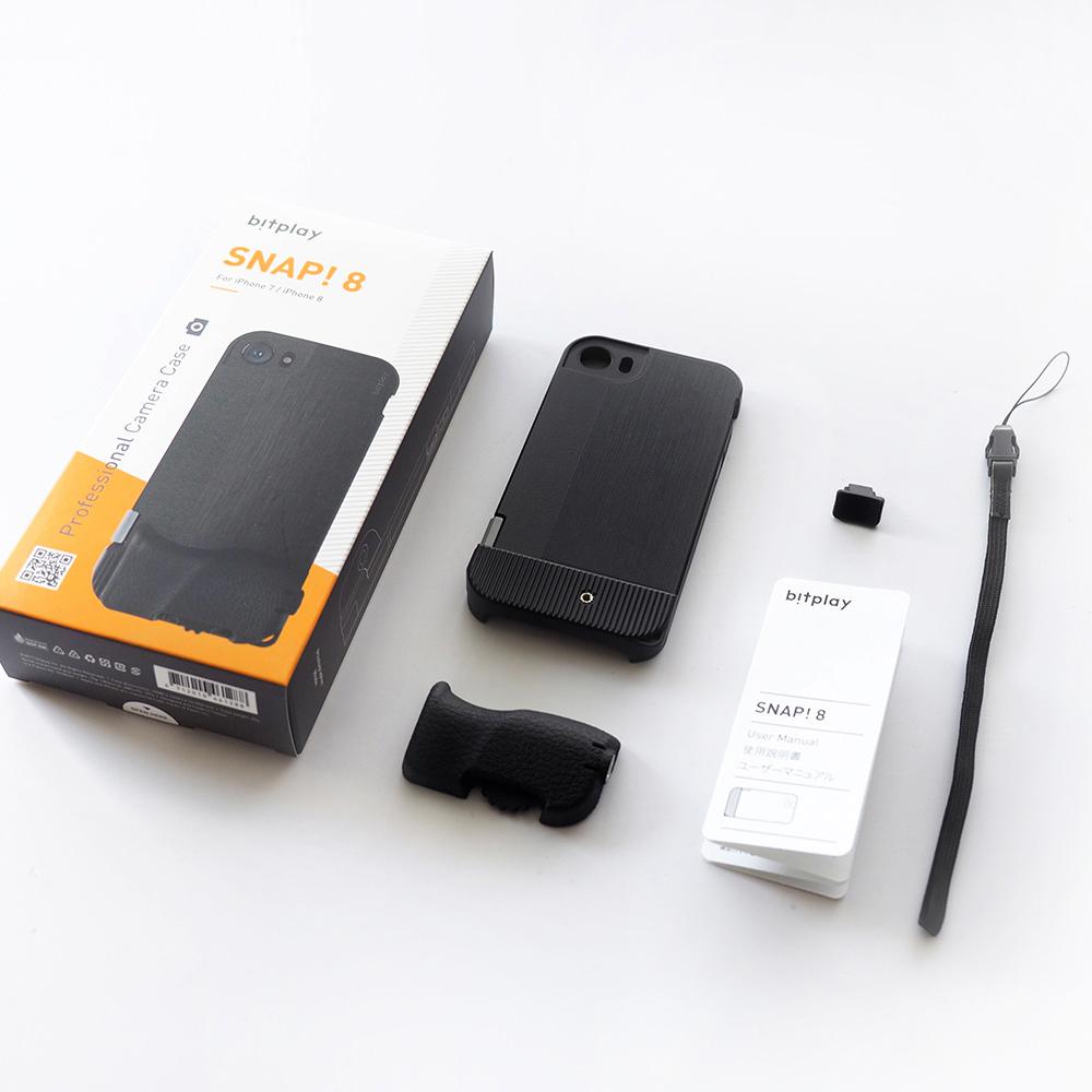 bitplay|SNAP!8 基本款手機殼(黑)(適用iPhone 7/8 4.7吋)
