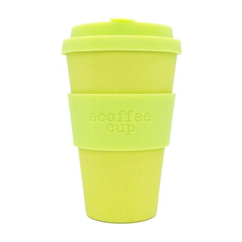 Ecoffee Cup|環保隨行杯14oz-萊姆黃