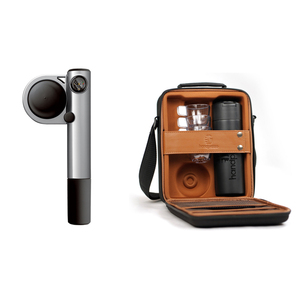 Handpresso|Pump Hybrid Set 行動濃縮咖啡機豪華禮盒組(銀色)