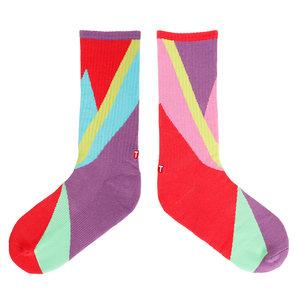 TwinSocks|不對稱板襪(色塊)