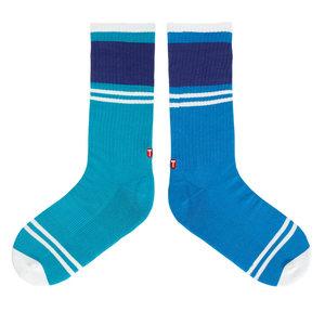 TwinSocks|不對稱板襪(藍漸層)