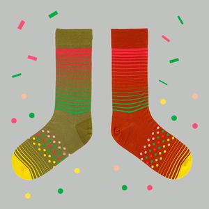 TwinSocks|中筒襪 - 點線面