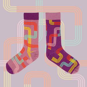 TwinSocks|中筒襪 - 線條人生