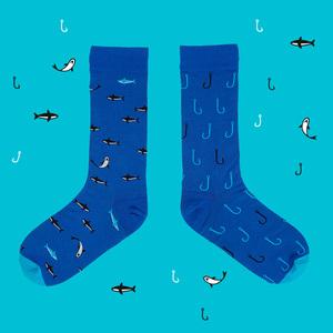 TwinSocks|中筒襪 - 放了那鯊魚