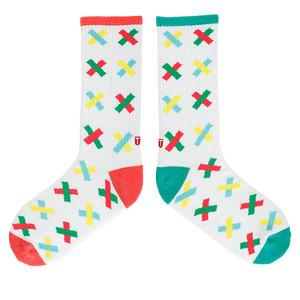TwinSocks|不對稱板襪(叉叉)